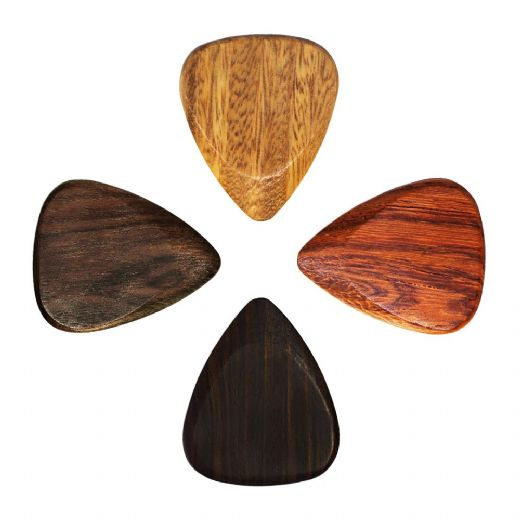 Timber Tones Electric Guitar 4 Guitar Picks